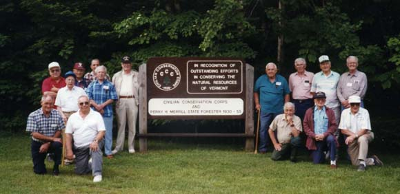 CCC reunion at state park